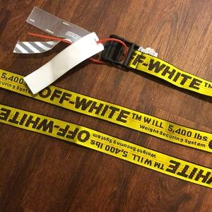 Authentic Off-White Belt